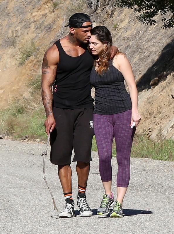 Kelly Brook et David Mcintosh à Los Angeles le 13 février 2014