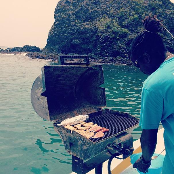 """Déjeuner à Tobago"""