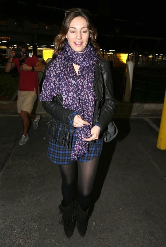 Kelly Brook le 31 janvier 2013 à Miami