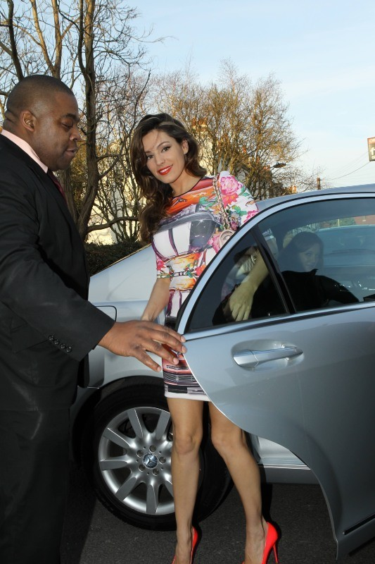 Kelly Brook, Londres, 27 février 2013