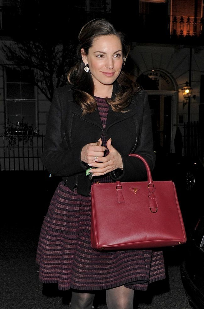 Kelly Brook le 12 février 2013 à Londres