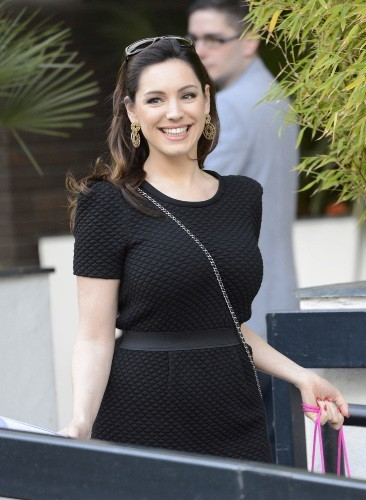 Kelly Brook, Londres, 30 avril 2013