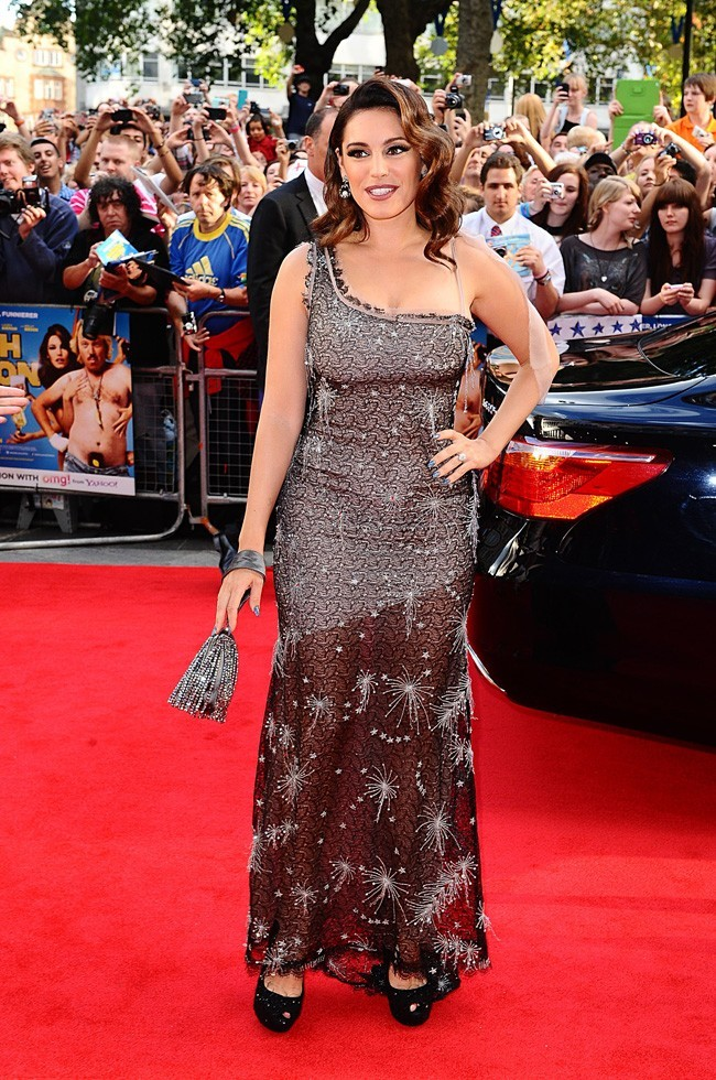 Kelly Brook le 20 août 2012 à Londres