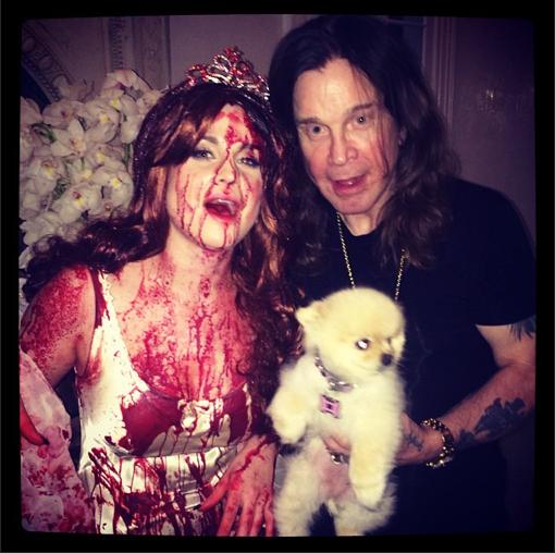 Kelly et Ozzy Osbourne