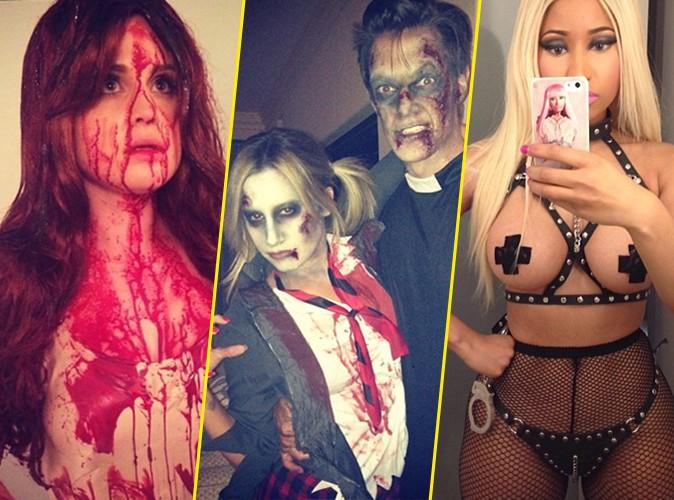 Photos : Kelly Osbourne, Ashley Tisdale, Nicki Minaj : les stars sortent le grand jeu pour fêter Halloween !