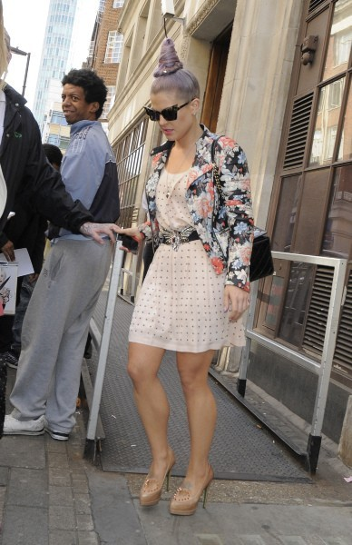 Kelly Osbourne, Londres, 17 septembre 2012.