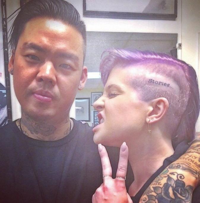 Photos : Kelly Osbourne : toujours plus délurée, elle s'offre un nouveau tatouage !