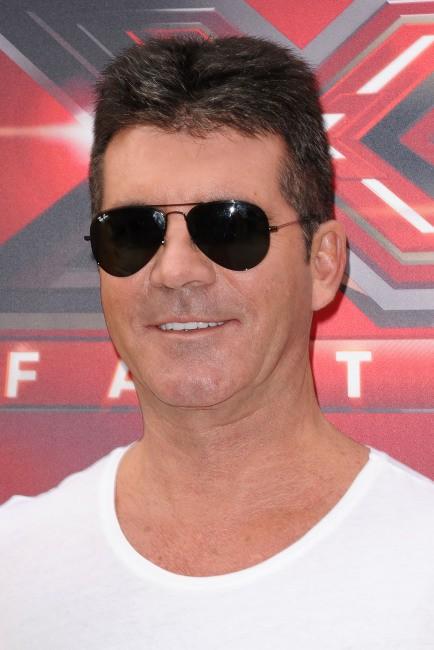 Simon Cowell lors des nouvelles auditions de X-Factor à Los Angeles, le 11 juillet 2013.