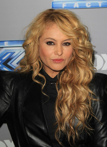 Paulina Rubio lors de l'after-party de la finale de l'émission X Factor US à Los Angeles, le 19 décembre 2013.