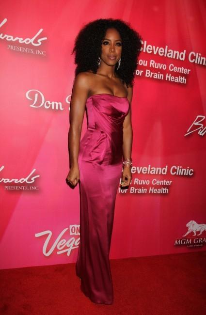 Kelly Rowland lors de la soirée Power of Love Gala à Las Vegas, le 19 février 2012.
