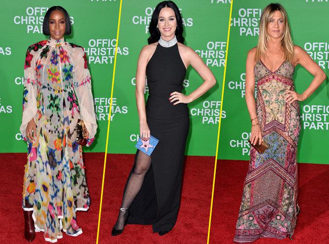 Kelly Rowland, Katy Perry, Jennifer Aniston... Toutes réunies pour la première de