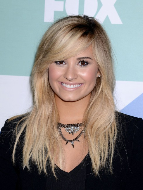 "Demi Lovato lors de la soirée ""Fox Summer TCA All Star Party"" à Los Angeles, le 1er août 2013."