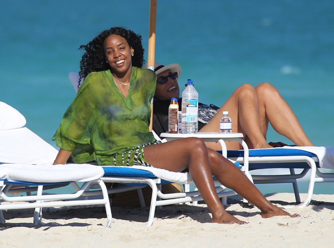 Kelly Rowland à Miami le 2 janvier 2014