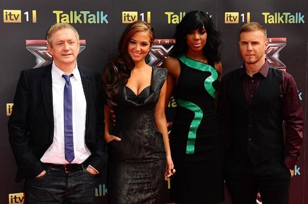Kelly avec tous les membres du jury !