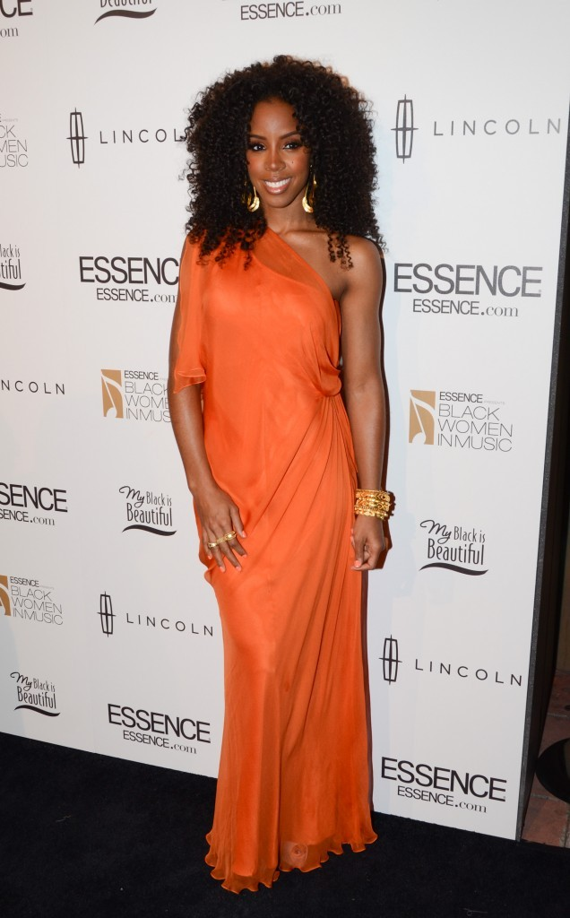 Kelly Rowland lors de la soirée Black Women in Music pre-Grammy event à Los angles, le 9 février 2012.