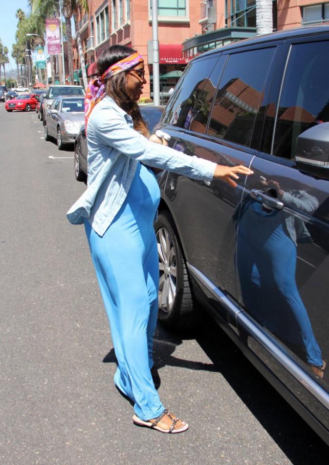 Photos : Kelly Rowland : une future maman radieuse et stylée !