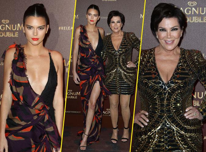 Kendall et Kris Jenner : les Reines des Glaces enflamment la Croisette !