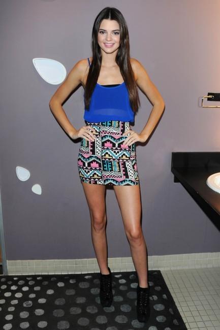 Kendall Jenner, Los Angeles, 12 décembre 2012.