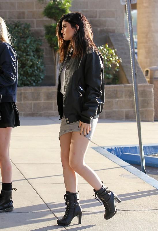 Kylie Jenner à Los Angeles, le 9 janvier 2014.