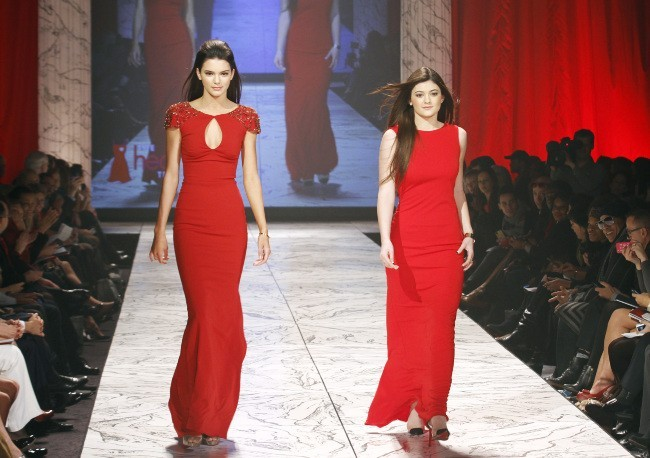 Kendall et Kylie Jenner le 6 février 2013 à New York