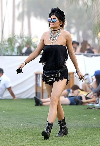 Kylie Jenner à Indio le 12 avril 2014