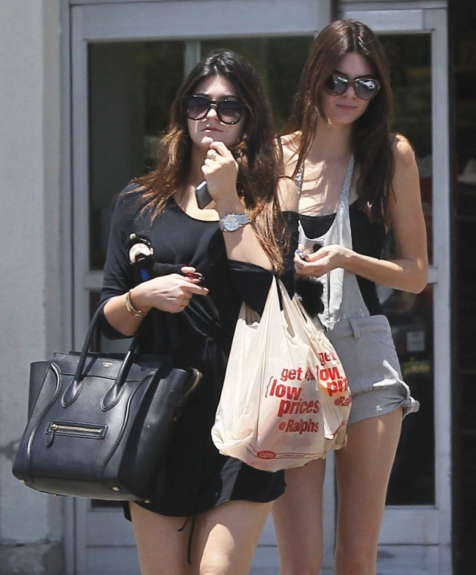 Kendall et Kylie Jenner, Los Angeles, 31 mai 2013.