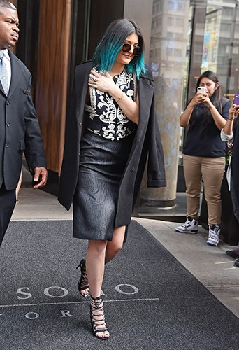 Kylie Jenner à New York le 4 juin 2014