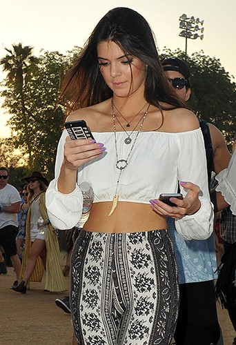 Kendall Jenner à Indio le 19 avril 2014