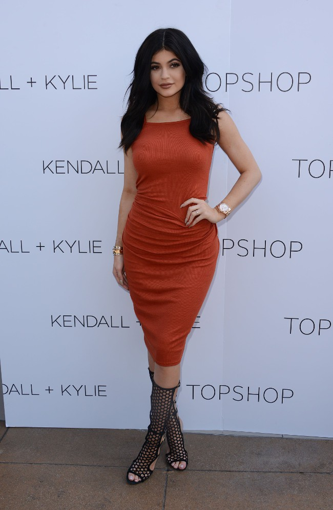 Kylie Jenner à Los Angeles le 3 juin 2015