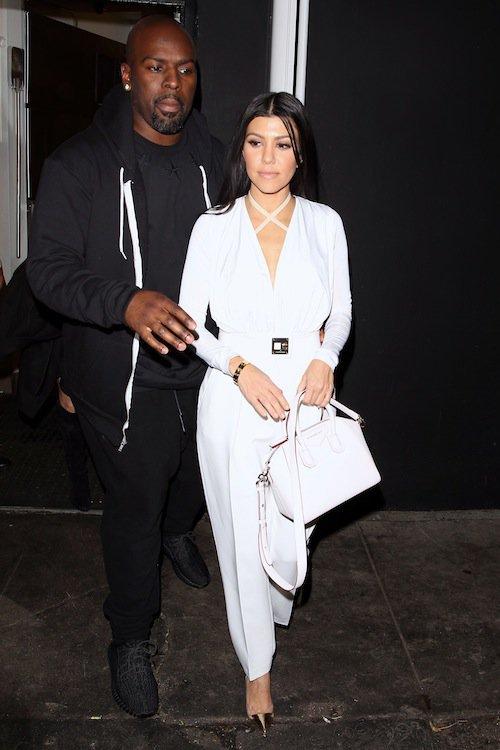 Kourtney Kardashian et Corey Gamble