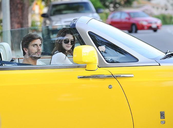 Kendall Jenner et Scott Disick à Calabasas le 12 juillet 2013