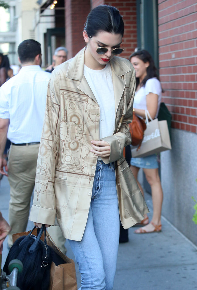 Kendall Jenner est une fashionista