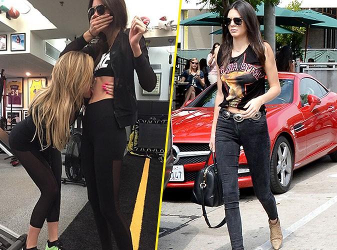 Khloe Kardashian et Kendall Jenner le 8 juillet 2015