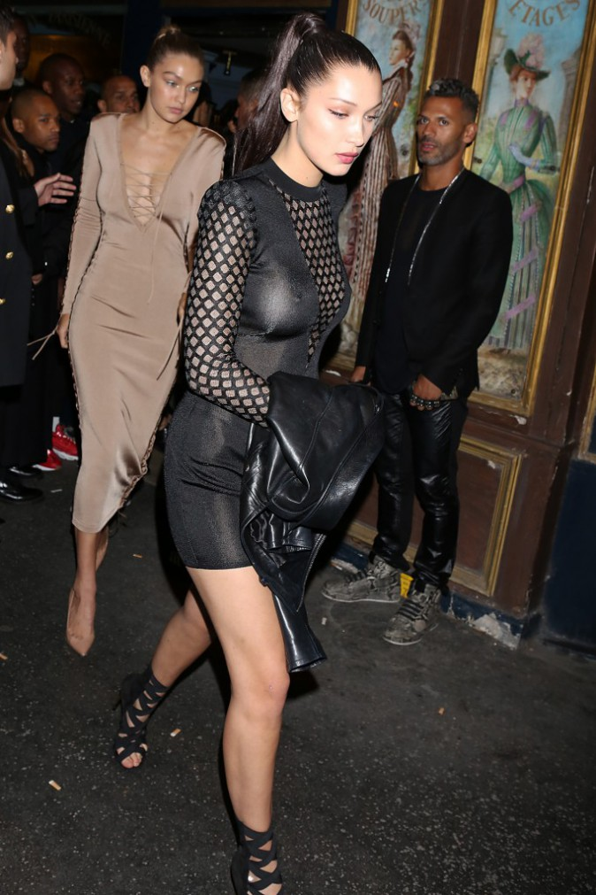 After party Balmain le 1er octobre 2015