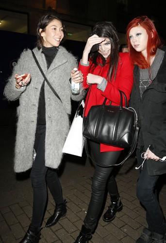 Kendall Jenner à Londres le 17 février 2014