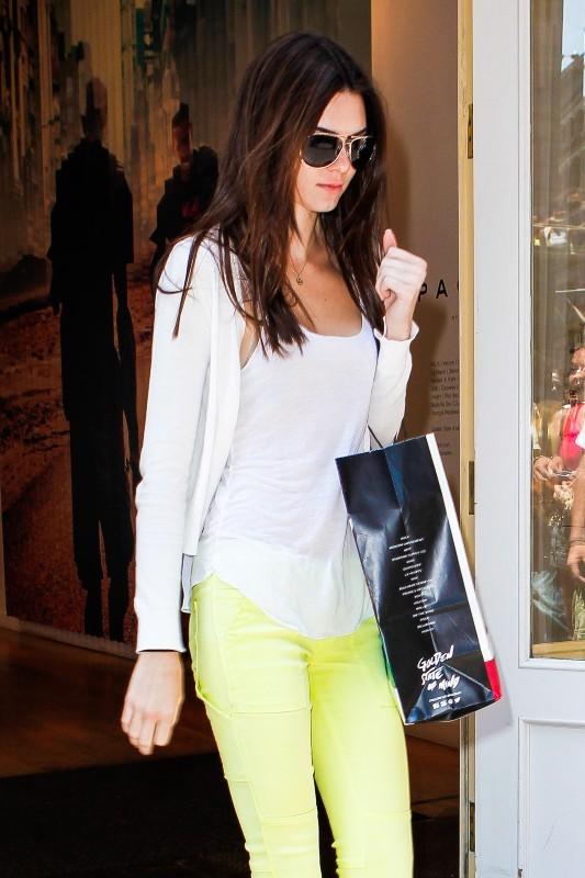 Kendall Jenner le 21 juin 2013 à New York