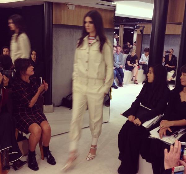 Photos: Kendall Jenner : captivante et sexy chez Rykiel, un rien l'habille !