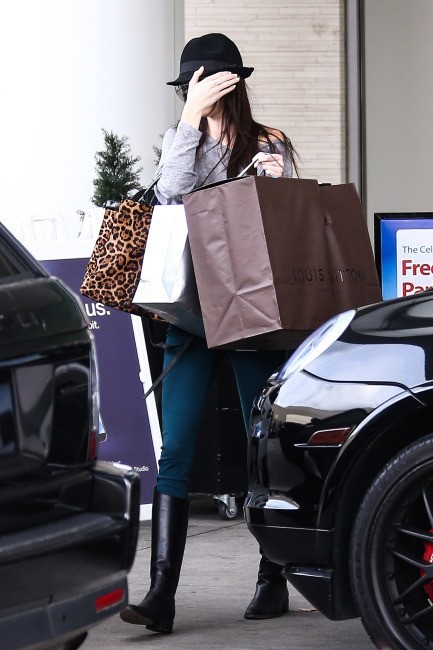Kendall Jenner le 23 décembre à Canoga Park, Californie