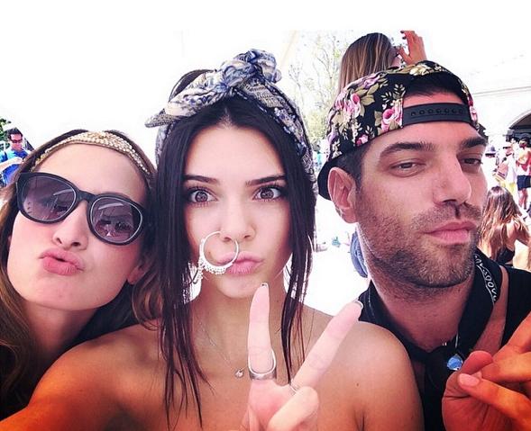 Photos : Kendall Jenner : elle dégaine l'anneau au nez XXL !