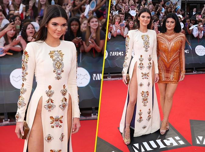 Kendall et Kylie Jenner à Toronto le 15 juin 2014