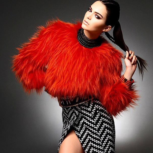 Kendall Jenner à la conquête de la mode !
