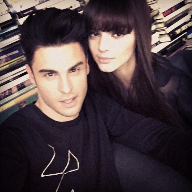 Baptiste Giabiconi dans les coulisses de son shooting pour Chanel... Avec Kendall Jenner !