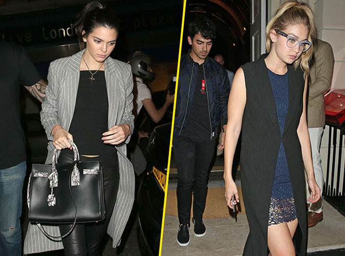 Kendall Jenner et Gigi Hadid le 2 juillet 2015