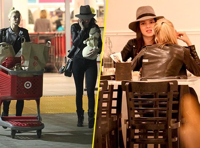 Photos : Kendall Jenner et Hailey Baldwin : diner en tête-à-tête et gros shopping de Noël pour les BFF !