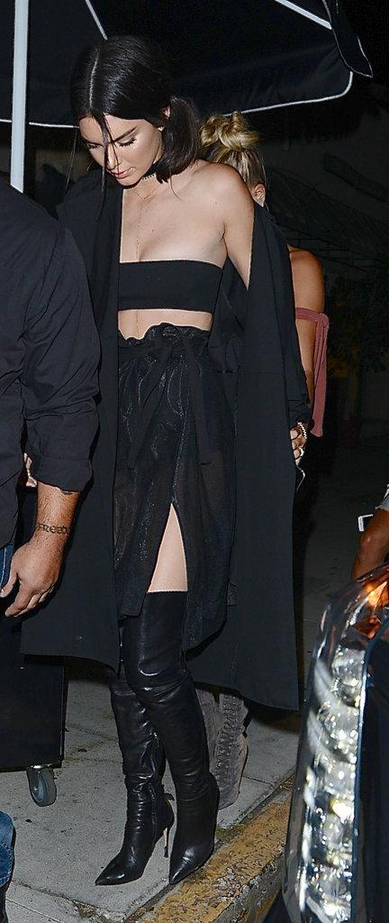Kendall Jenner et Hailey Baldwin : duo de BFFs canonesque à la soirée d'anniversaire de Kylie Jenner