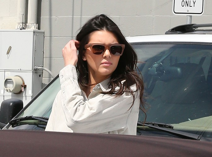 Kendall Jenner à Los Angeles le 21 mars 2014
