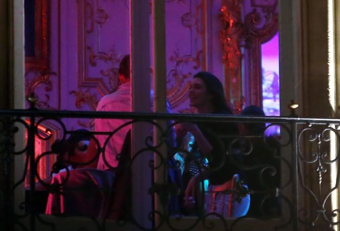 Kendall Jenner à l'after party de Balmain le 25 septembre 2014