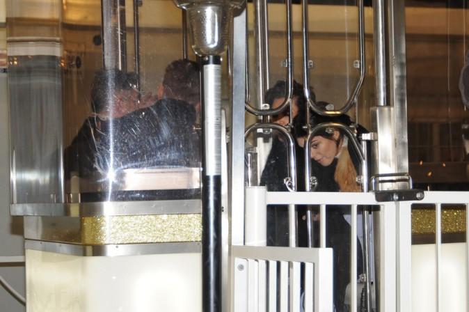 Kendall et Kris Jenner à Paris le 25 janvier 2015