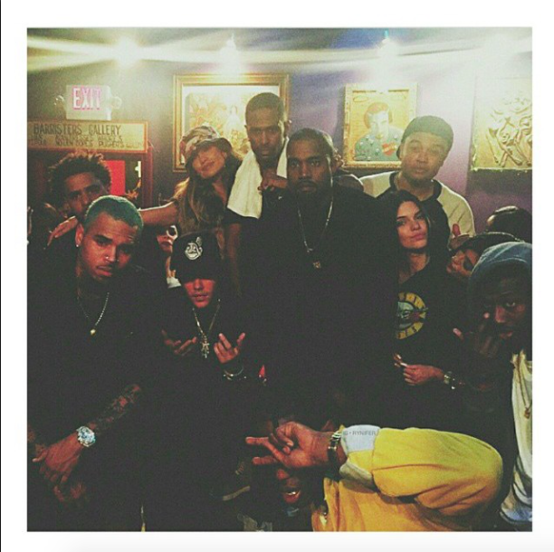 Kendall Jenner, Kanye West, Chris Brown, Justin Bieber : tous réunis pour Big Sean !