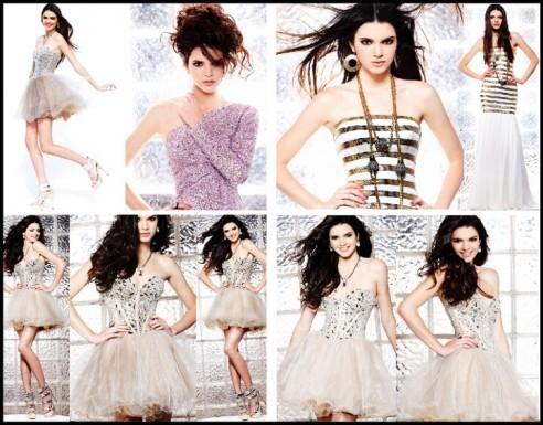 Kendall Jenner égérie de la marque Sherri Hill